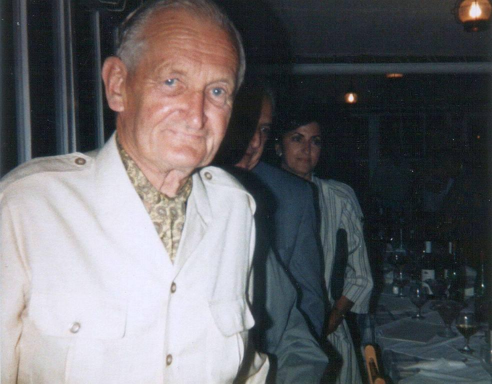1990 Σεπτέμβρης Ο ναύαρχος Gick όπως τον φωτογράφησα