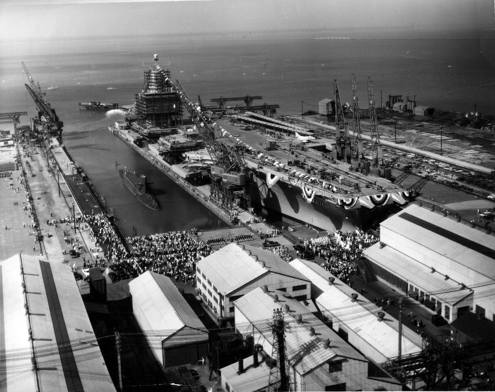 Λιμάνι Newport News 1960