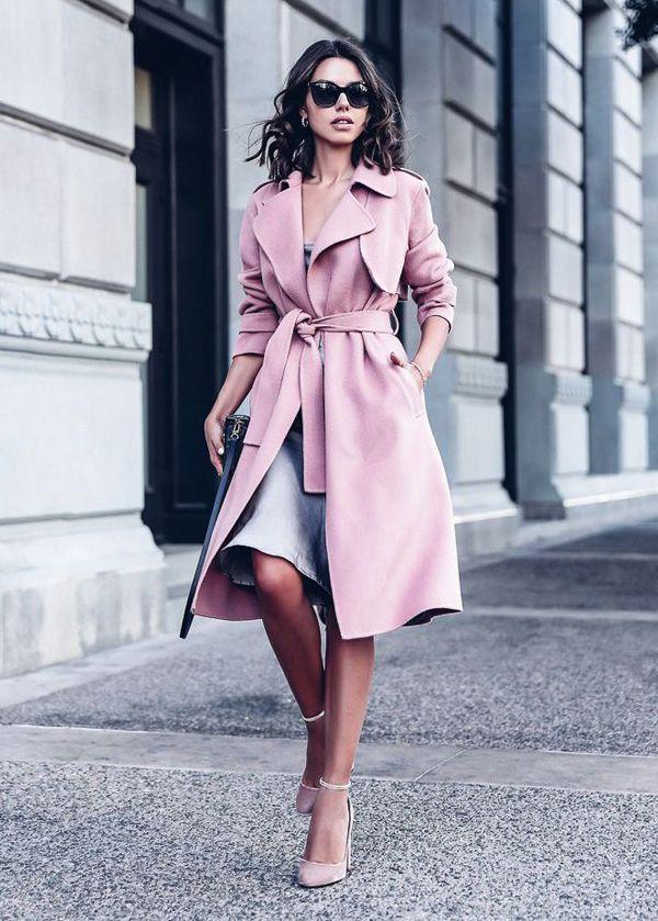 Θα σου δείξω πως να φορέσεις το ροζ παλτό σου με στυλ ... cb16d62f511